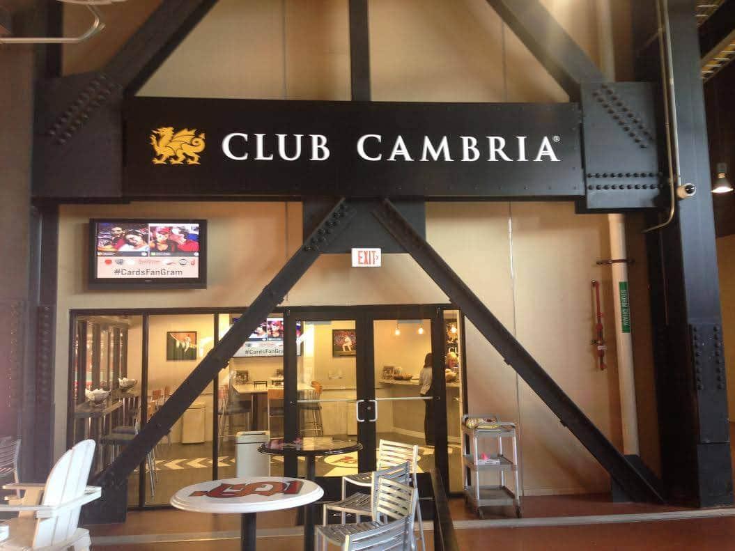 , Club Cambria at Busch Stadium