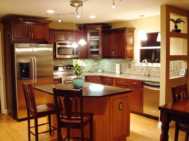 consider a different granite color for your kitchen island