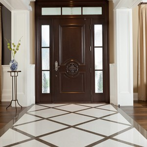 Consider Cambria for flooring